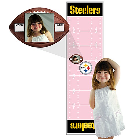 NFL Pittsburgh Steelers Pink Growth Chart