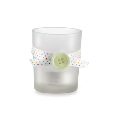 "Baby Aspen ""Cute as a Button"" Tealight Candle Holder (Set of 4)"