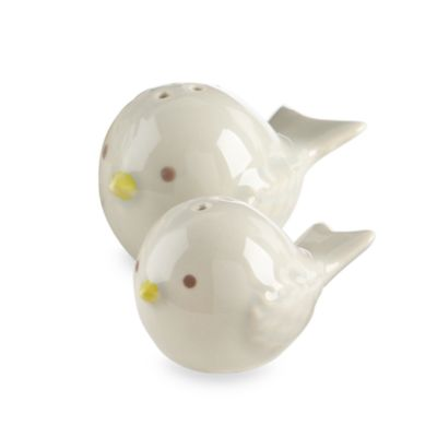 "Kate Aspen® ""Feathering the Nest"" Salt and Pepper Shaker Set"