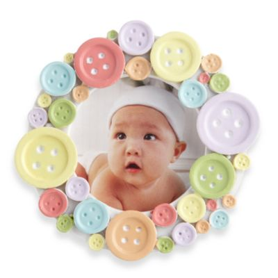 "Kate Aspen® ""Cute as a Button"" Photo Frame"