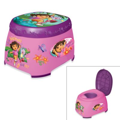 Dora and Boots 3-in-1 Potty Trainer Seat