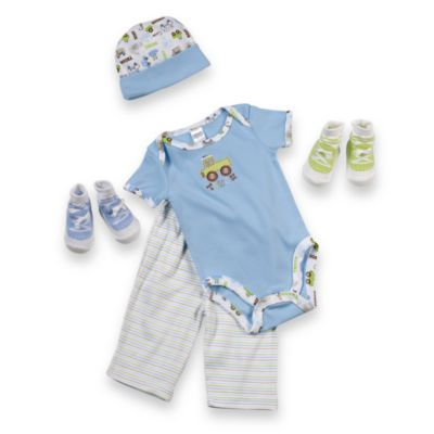 Cutie Pie® 5-Piece Transportation Layette Set