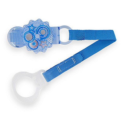 MAM Pacifier Keeper & Clip - Blue