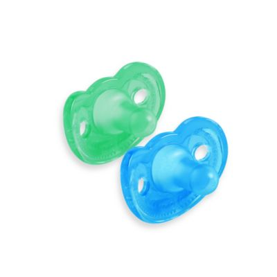 The First Years® Set of 2 Infant Gumdrop Pacifiers in Blue/Green
