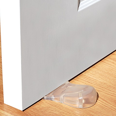 Kidkusion Clear Door Stop Guard