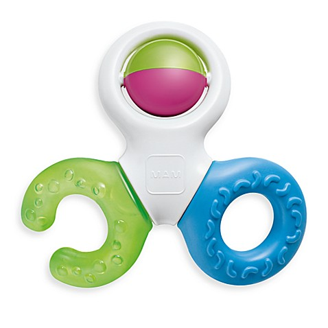 MAM Bite & Play Teether/Rattle