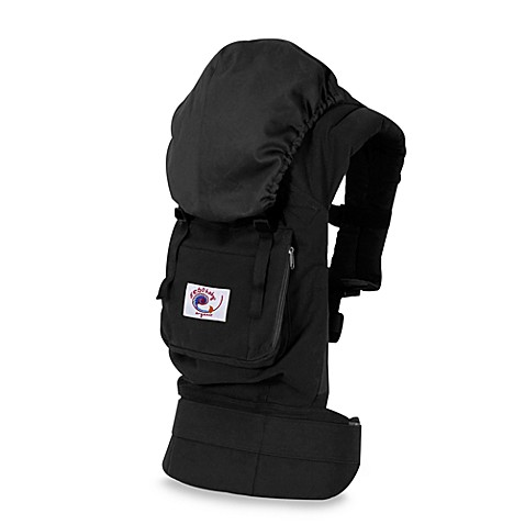 ERGObaby® Organic Black Carrier with Solid Black Lining