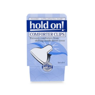 Comforter Clips (set of 4)
