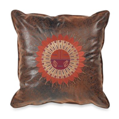 Croscill Plateau 18-Inch Square Sundial Toss Pillow