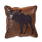Croscill Plateau 16-Inch Square Moose Toss Pillow