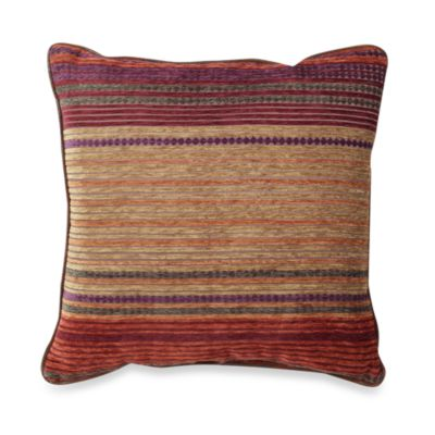 Croscill Plateau 18-Inch Square Toss Pillow