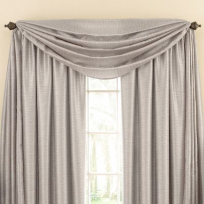 Astoria Sound Asleep™ Room Darkening Window Curtain Thermaliner™ Scarf Valance