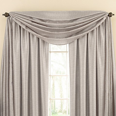 Shower Curtain With Matching Window Valance