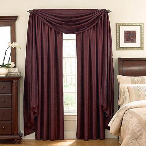 Astoria Sound Asleep™ Room Darkening Window Curtain Thermaliner™ Scoop Valance