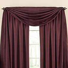 Astoria Sound Asleep™ Room Darkening Window Thermaliner™ Scarf Valance