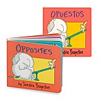 Opposites Book (English and Spanish Versions)