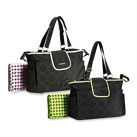 carter 39 s out and about tonal dot diaper bag buybuy baby. Black Bedroom Furniture Sets. Home Design Ideas