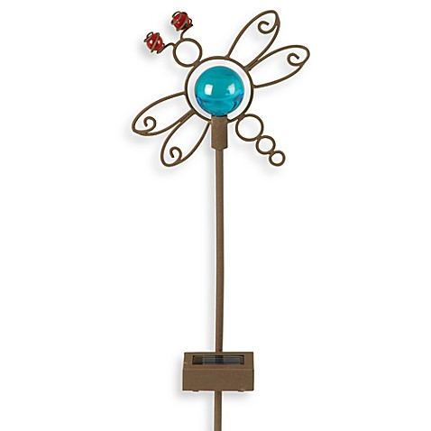 Moonrays™ Blue Dragonfly Planter Light