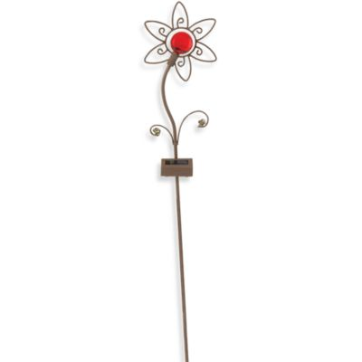 Moonrays™ Red Flower Planter Light