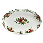 Royal Albert Bless This Home Platter in Old Country Roses