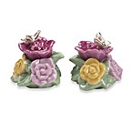 Royal Albert Butterfly Salt & Pepper Set in Old Country Roses