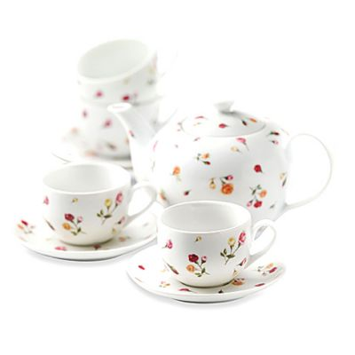 Royal Albert 9-Piece Tea Set in Country Rose