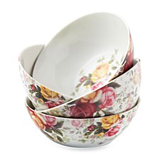 Royal Albert Chintz All Purpose Bowls in Country Rose (Set of 4)