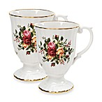 Royal Albert Fluted Mugs in Old Country Roses (Set of 2)