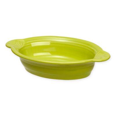 Fiesta® 17 oz. Oval Individual Casserole Dish in Lemongrass