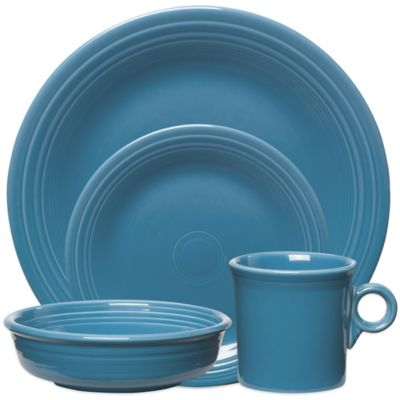 Fiesta® 4-Piece Place Setting in Peacock