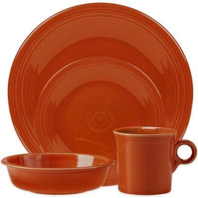Fiesta® 4-Piece Place Setting in Paprika