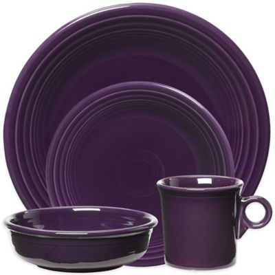 4-Piece Place Setting in Plum