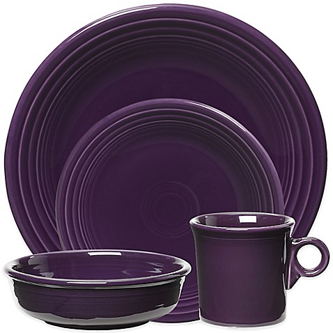 Fiesta® Dinnerware Collection in Plum