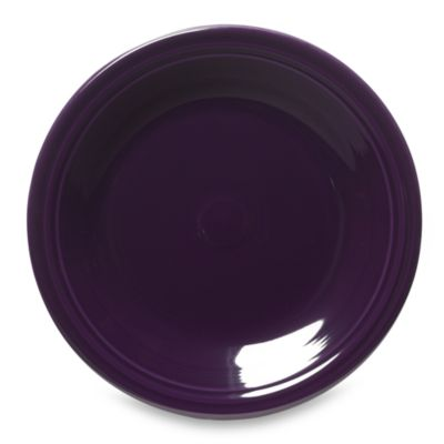 Fiesta® 10 1/2-Inch Dinner Plate in Plum