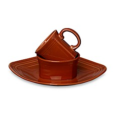 Fiesta® 3-Piece Square Place Setting in Paprika