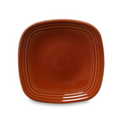 Fiesta® Square Luncheon Plate in Paprika