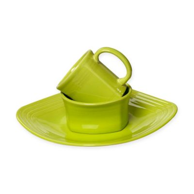 Fiesta® 3-Piece Square Place Setting in Lemongrass