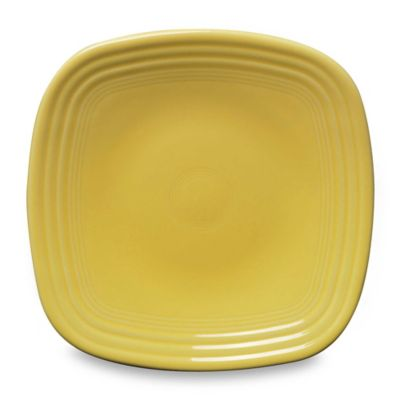 Fiesta® Sunflower 9 1/8-Inch Square Luncheon Plate