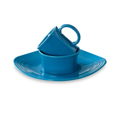 Fiesta® 3-Piece Square Place Setting in Peacock