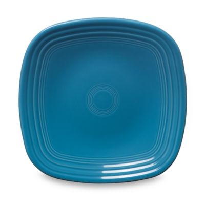 Fiesta® Square Luncheon Plate in Peacock