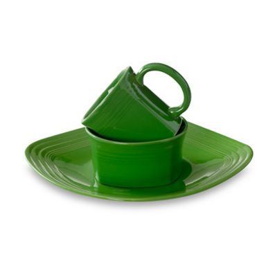 Fiesta® Shamrock 3-Piece Square Place Setting