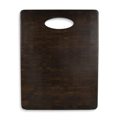 Architec™ Luxe Black Bamboo Cutting Block