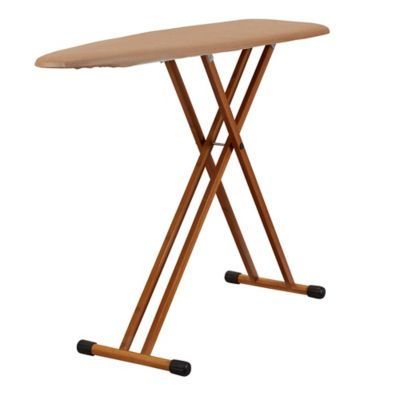 Household Essentials™ Fibertech® Bamboo Leg Ironing Board