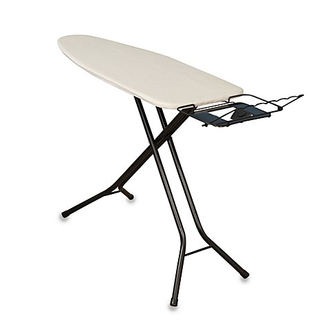 Household Essentials™ Bronze 4-Leg Mega Wide Top Ironing Board