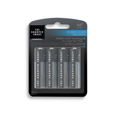 The Sharper Image® 8-Pack AA Alkaline Batteries