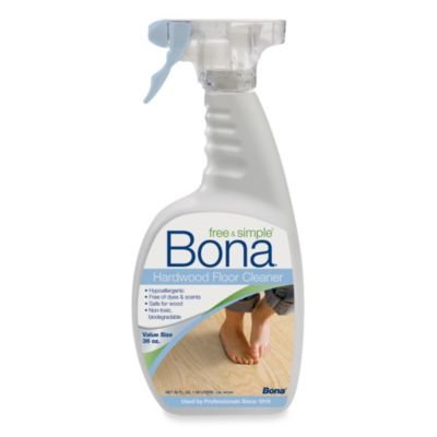 Bona® Free & Simple Hardwood Floor Cleaner in 36-Ounce Spray Bottle