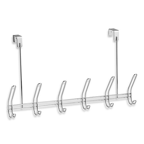 InterDesign® Classico Over The Door Hook Rack