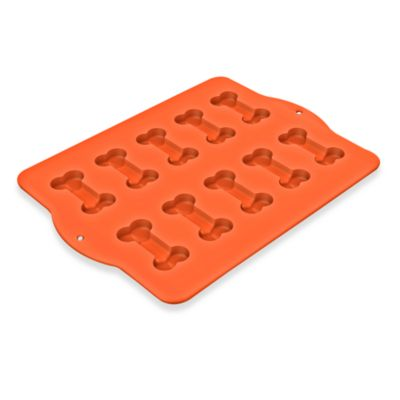 Silicone Dog Bone Shaped Baking Pan