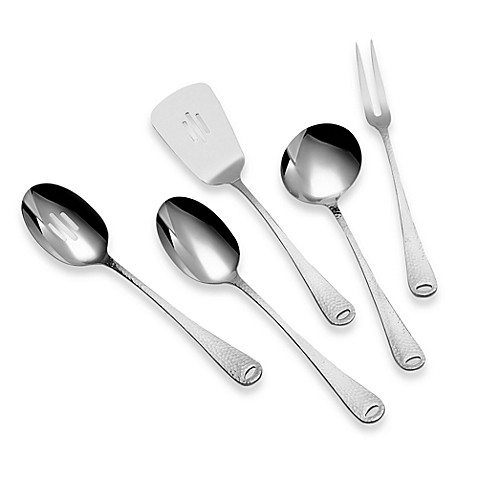 Ginkgo Lafayette Stainless Steel 5-Piece Kitchen Tool Set