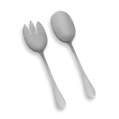 Ginkgo Lafayette Stainless Steel 2-Piece Salad Serving Set